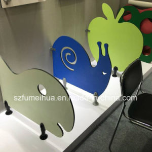 Fmh Creative Colorful Kindergarten Toilet Cubicle Partition/ HPL Panel pictures & photos