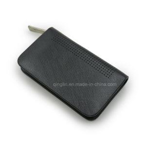 Promotion Black PU Leather Key Case Wallet pictures & photos