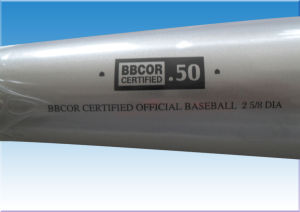 Two-Piece Bbcor Certificated Drop -3 Baseball Bat pictures & photos