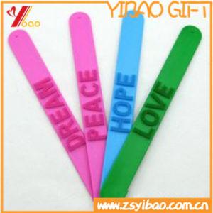 Popular Newest Silicone Slap Braceletsr for Sale pictures & photos