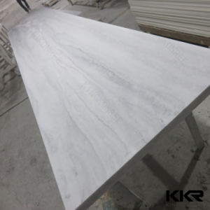 12mm Seamless Joint Textured Marble Look Acrylic Solid Surface Sheet pictures & photos