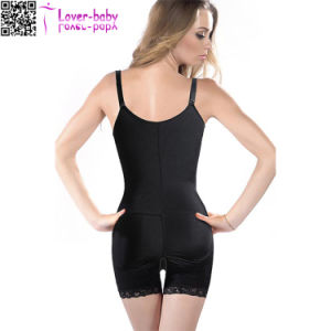 Lace Control Hiphugger Braless Latex Body Shaper L81187 pictures & photos