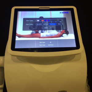 Vertical 600W Micro-Channel 808 Diode Laser Hair Removal Machine pictures & photos