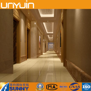 Evironmental Protection Commercial PVC Floor in Stone Grain pictures & photos