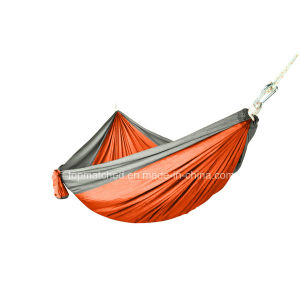Covered Hammock Portable 210t Parachute Camping Hammock pictures & photos