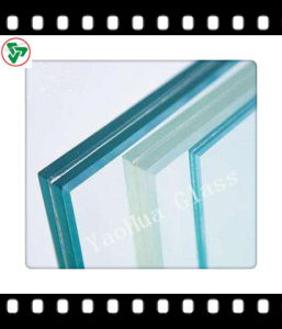 Clear/Safety Double Layer Laminated Glass with Ce, ISO pictures & photos