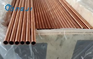 Low Fin Seamless Copper Tube for Evaperators pictures & photos