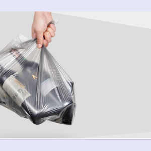 PE Recycle 13 Gallon Trash Bag Embossed Disposable Garbage Bag pictures & photos