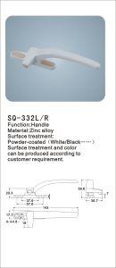 Zinc Alloy Handle for Windows/Doors (SQ-332 L/R) pictures & photos