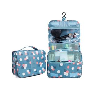 Portable Travel Folding Make up Toiletry Bags with Hook Organizer Bags Cosmetic Bags pictures & photos