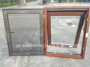 Woodwin Main Product High Quality Wood and Aluminum Window with Screen pictures & photos