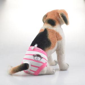 Pet Clothes Pet Striped Physiological Pants pictures & photos