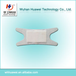 H Shape Adhesive Non-Woven Wound Dressing for Eye Surgery pictures & photos