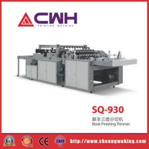 Sq-930 New Book Finishing Trimmer Making Machine for Exercise Book pictures & photos