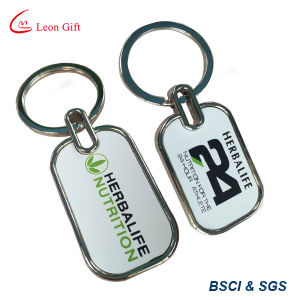 Custom Metal Printed Logo Keyring for Adverting pictures & photos