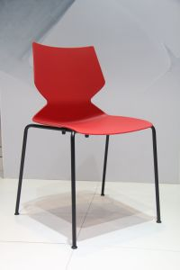 Long Durable Colorful PP Dining Chair pictures & photos