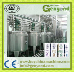 Pasteurized Milk Processing Line Machinery Automatic Top Carton Package pictures & photos
