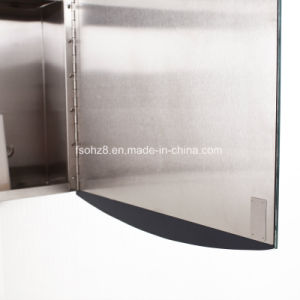Newlish Design Stainless Steel Furniture Bathroom Mirror Cabinet (7026) pictures & photos
