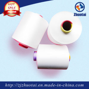 3075/48f High Elastic 100% Polyester Air Covered Yarn for Knitting pictures & photos