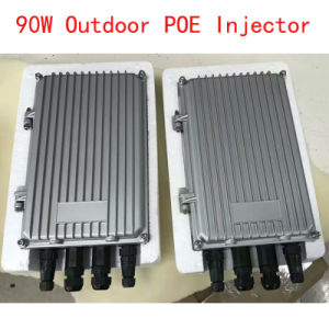 90W Midspans Outdoor Poe Grade Poe Injector 90W Linaer PSE Chip Based pictures & photos