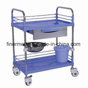 Mobile Stainless Steel Medical Cart pictures & photos