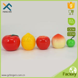 30ml Fruit Shape Essential Oil Pet Plastic Jars for Skin Care Cream Peach Shape Jar pictures & photos