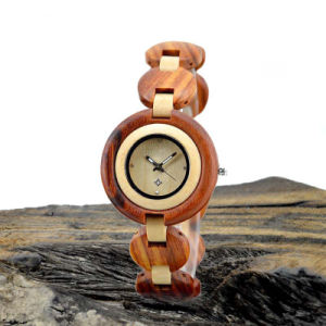 New Fashion Wooden Friendly Lady Watch pictures & photos