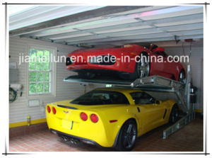 Ce Approved Two Levels Mini Tilting Car Lift pictures & photos