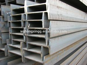 Carbon Steel DIN 1.0037 I Beam Steel Steel I Beam Sizes Hot Dipped Galvanized Carbon I Beam Steel pictures & photos