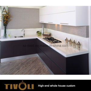 High Gloss PU Painting Kitchen Cabinet and Kitchen Furniture (AP135) pictures & photos