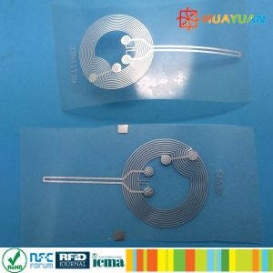 ISO18092 RFID Anti-couterfeit NFC NTAG216 TT Tamper Evident Label Tag pictures & photos