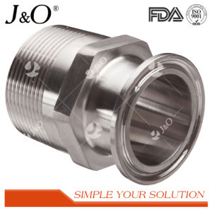 Sanitary Stainless Steel Hex Tube Pipe Fittings Female Clamp Adapter pictures & photos