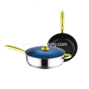 3PCS Stainless Steel Frypan Set Non-Stick pictures & photos