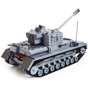 14882010-1193PCS Building Blocks German Military Tank Bricks Boy′s Christmas Gift Playmobil Educational Toys pictures & photos