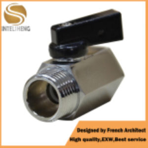 Brass Mini Ball Valve with 1/4 Inch for Water pictures & photos