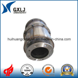 Universal Stainless Catalytic Muffler Exhaust for Turbo Cars pictures & photos