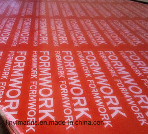 Red Film Faced Plywood with Poplar Core for Construction pictures & photos