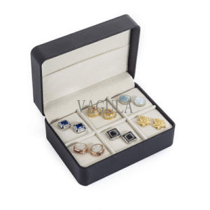 VAGULA New Jewelry Display Box Tie Clip Tie Pin Box Cufflinks Case 26 pictures & photos