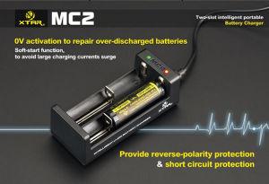 2016 Vivismoke Hot Selling Original Xtar Mc2 Charger for 18650 Batteries pictures & photos