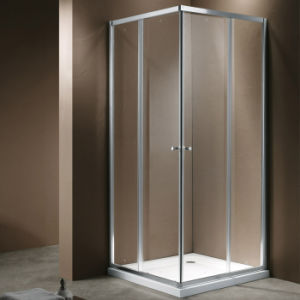 4mm Tempered Glass Shower Enclosure with Two Sliding Panels (K-311) pictures & photos