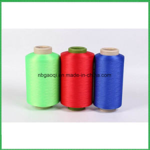 Professional Supplier Color Spandex Covered Yarn 32s for Knitting and Weaving 30150/144f pictures & photos