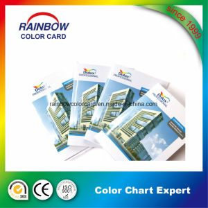 Customized Booking Printing Color Card Brochure for Advertising pictures & photos