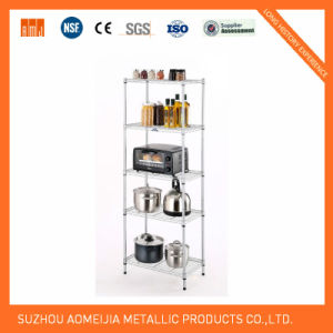 Metal Wire Display Exhibition Storage Shelving for Switzerland Shelf pictures & photos