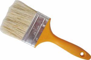 Yellow Plastic Handle Bristle Paint Brush pictures & photos