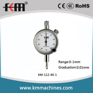 0-1mm 0.01mm Small Dial Indicator with 40mm Dial pictures & photos