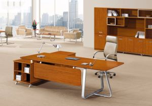 China Modern Office Furniture MFC Wooden MDF Office Table (NS-NW052) pictures & photos