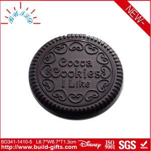 Plastic Pocket Mirror Cookies Shape pictures & photos