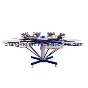Eight Color T-Shirt Screen Printing Press pictures & photos
