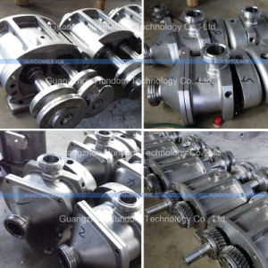 Stainless Steel Horizontal Twin Screw Pump for Jam pictures & photos