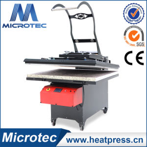 Microtec High Quality Flat Auto Open Heat Press Machine with Slid out Bed pictures & photos